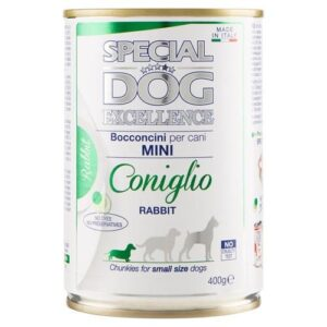 8009470060387 Conserva Special Dog Excelence Mini 400 g Iepure